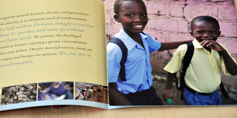 Community Coalition for Haiti brochure