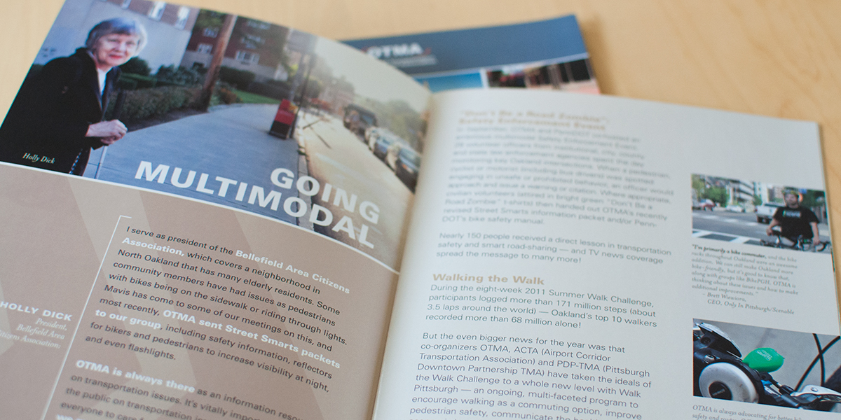 OTMA 2011/2010 Annual Report by Muffinman Studios