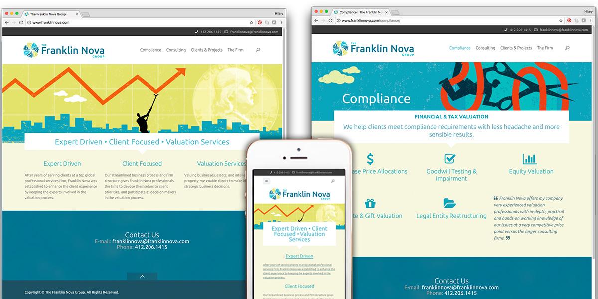 Franklin Nova Website