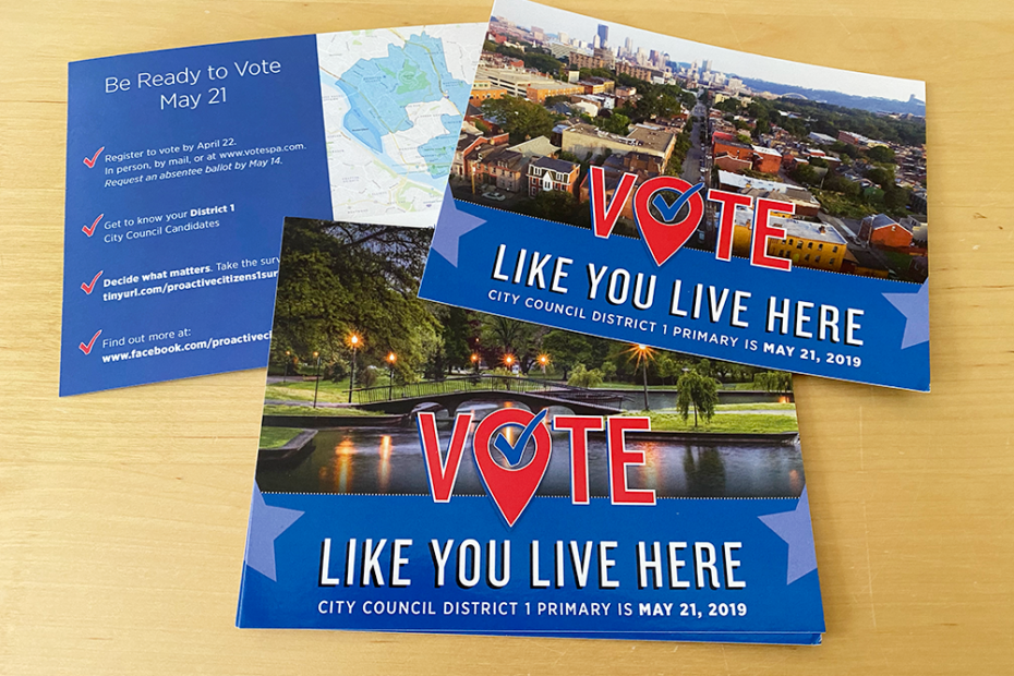 Vote Like You Live Here Campaign by Muffinman Studios
